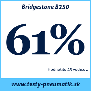 Test letných pneumatík Bridgestone B250