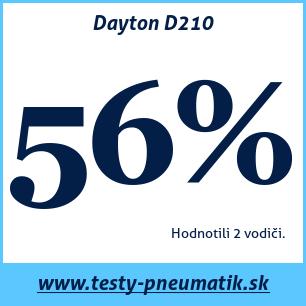 Test letných pneumatík Dayton D210