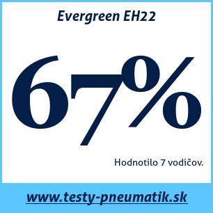 Test letných pneumatík Evergreen EH22