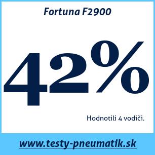 Test letných pneumatík Fortuna F2900