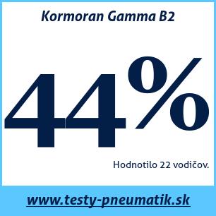 Test letných pneumatík Kormoran Gamma B2
