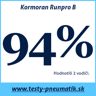Test letných pneumatík Kormoran Runpro B