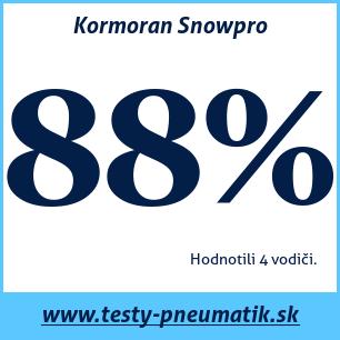 Test zimných pneumatík Kormoran Snowpro