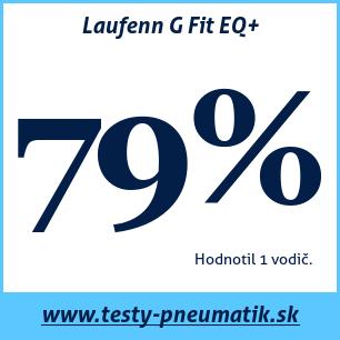 Test letných pneumatík Laufenn G Fit EQ+