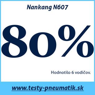 Test celoročných pneumatík Nankang N607