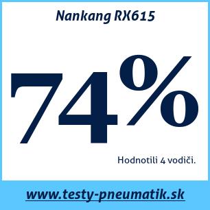 Test letných pneumatík Nankang RX615