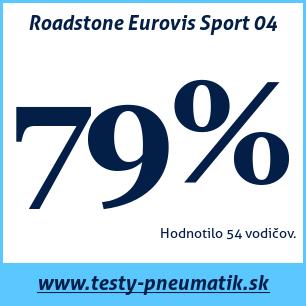 Test letných pneumatík Roadstone Eurovis Sport 04