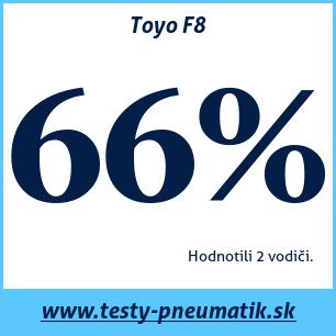 Test celoročných pneumatík Toyo F8