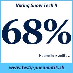 Test zimných pneumatík Viking Snow Tech II