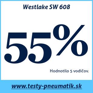 Test letných pneumatík Westlake SW 608