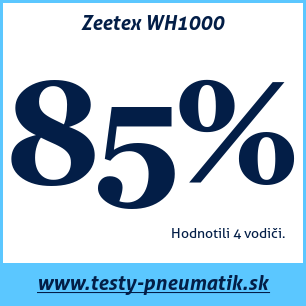 Test zimných pneumatík Zeetex WH1000